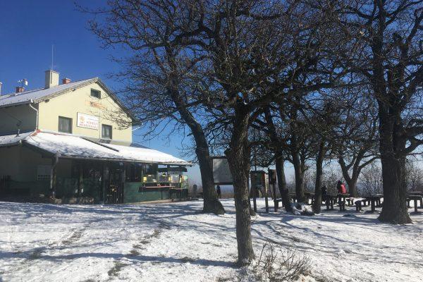 Czibulka János Kőhegyi Menedékház téli